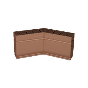 Photo of Stegmeier Deck Drain 45-Degree Corner Piece (Tan)