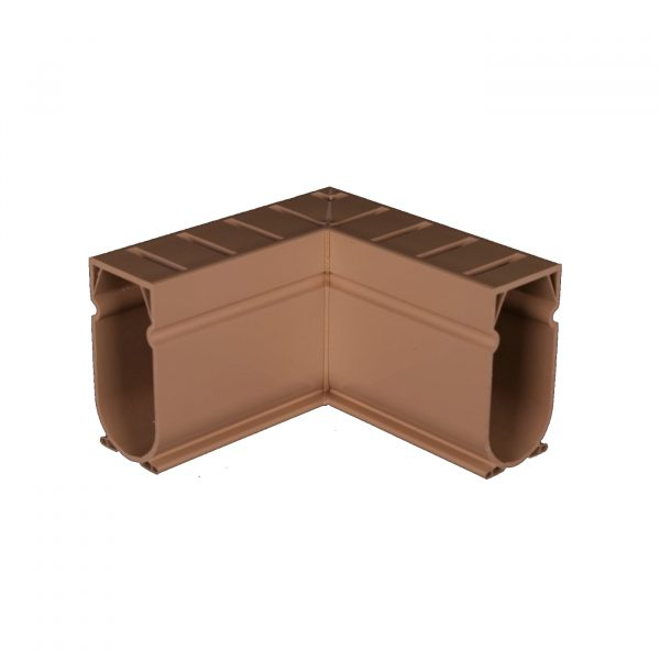 Photo of Stegmeier Deck Drain 90-Degree Corner Piece (Tan)