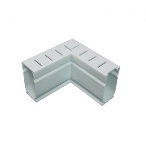 Photo of Stegmeier Deck Drain 90-Degree Corner Piece (White)