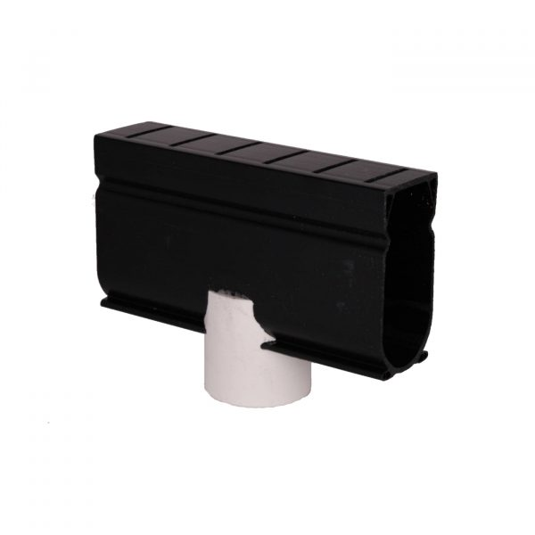 Photo of Stegmeier Deck Drain Down Adapter Piece – 1-1/2″ Pipe Outlet (Black)