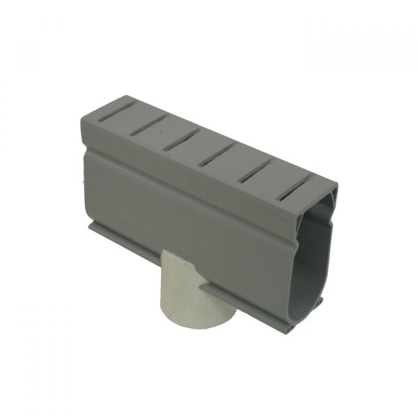 Photo of Stegmeier Deck Drain Down Adapter Piece – 1-1/2″ Pipe Outlet (Gray)