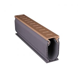 Photo of Stegmeier Frontier Deck Drain – 10′ Length (Tan)