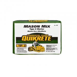 Photo of Quikrete Type S Mason Mix Mortar – 80LB Bag